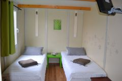 Chambre double twin chalet