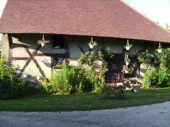 La vieille maison  à l'entrée du Breuil