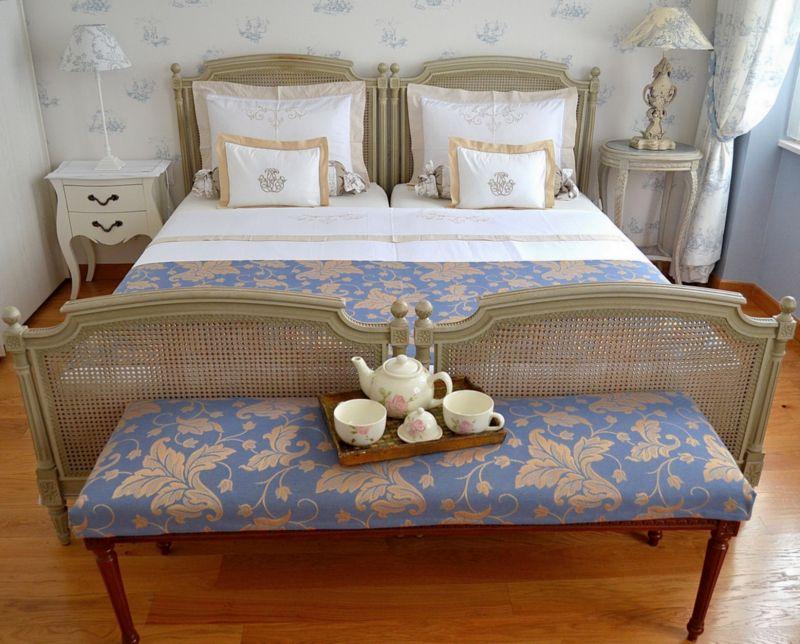 Grande chambre romantique en style ''Toile de Jouy'