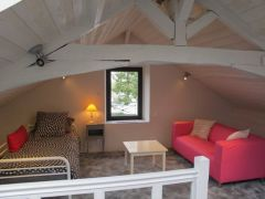 Chambre étage vue sur La Loire