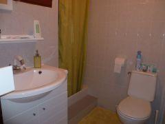 la salle d'eau et wc