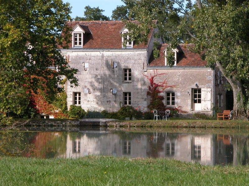 Le Moulin côté étang