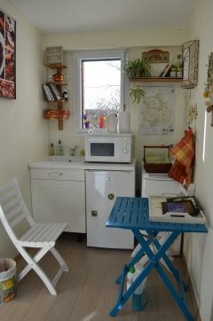 La kitchenette des 2 chambres