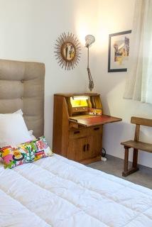 studio 2 chambre meublée avec grand lit