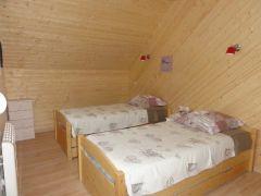 chambre enfants. 2 lits 90