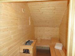 sauna finlandais 8 personnes