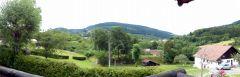panorama vu du balcon