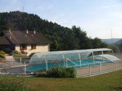 piscine à partager avec un deuxième gite