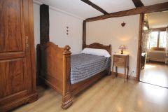 Chambre 4 - 2 lits simples - kelsch bleu
