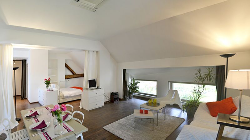 gite loft contemporain