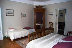 Chambre l'Olivine avec lit supplémentaire