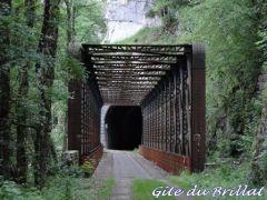tunnel sur la voie verte BRIOD