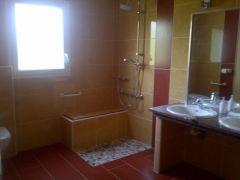 salle de douche et wc chambre Ambre