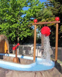 Aire de jeux d'eau pour les plus jeunes