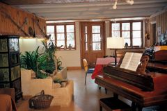 La salle à manger/salon de musique