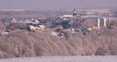 Flavigny en hiver