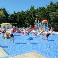 Aire de jeux aquatiques pour les enfants