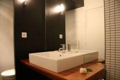 salle de bain chambre double.