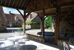 L'intérieur du hameau