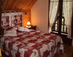 Chambre lit 140 avec douche/wc
