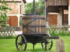 le vieux pressoir de La Houeyte