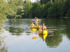Canoe sur le Guiers
