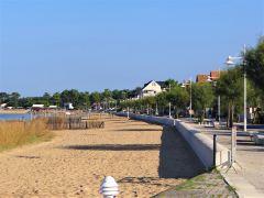 front de mer marennes plage