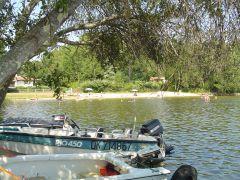 Camping Calède avec accès direct au lac de Parentis - Biscarrosse