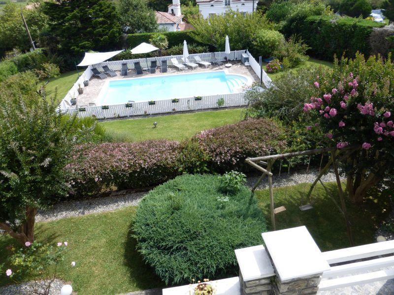 Jardin + piscine