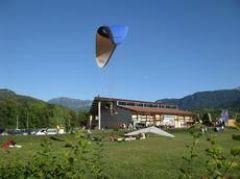 Aterrissage parapente à 1,5 KM