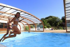 la joie de la piscine