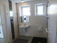 La salle d'eau-WC, adaptée