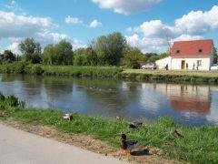Gite au bord du Canal de la Somme