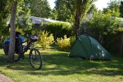 camping la grande vallée- accueil vélo