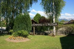 Camping de l'Aloua (20 mètres de la voie verte)