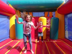 jeux gonflables au camping le chaponnet