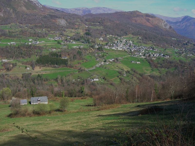 Vue du Val d'Azun