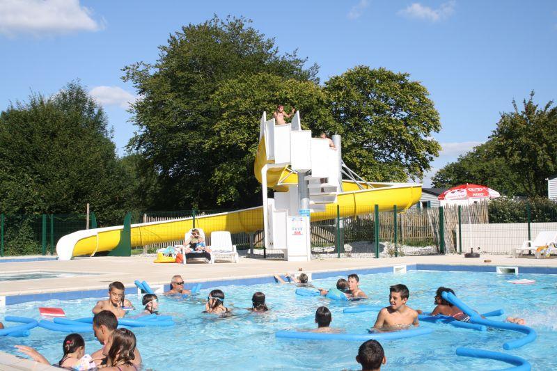 Le parc aquatique du Camping LE MOULIN DES EFFRES