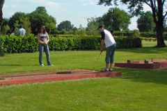 Mini-golf au bord du camping