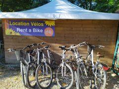 Location de vélo Camping du Lac de Groléjac