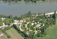 Plan du camping du Lac de Groléjac