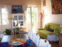 Salon de la Suite L'Eden Parc