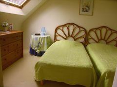 chambre 1 avec 2 lits en 90 cm