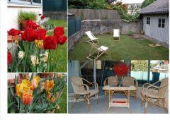 Veranda et jardin