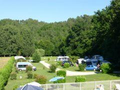 Camping sur les rives de l'Isle