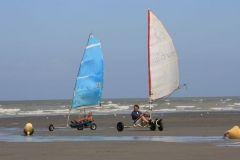 Une des activités nautiques de Cayeux