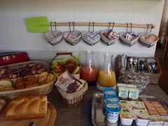le buffet petit déjeuner
