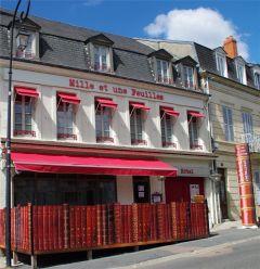 MILLE ET UNE FEUILLES - hôtel 3* et restaurant bistronomique de la Ville du Livre