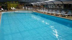 piscine couverte au camping
