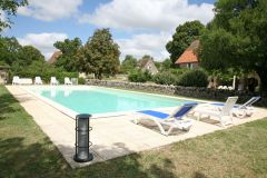 4 gites (2,6,6,11 pers) avec piscine Lot-Rocamadour